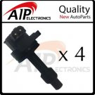 BRAND NEW IGNITION COIL ON PLUG *SET OF 4 *FITS 1.9L L4