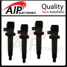 NEW set of 4 IGNITION COIL PACK *FITS ALL 2.4L 1.8L 4cyl UF247