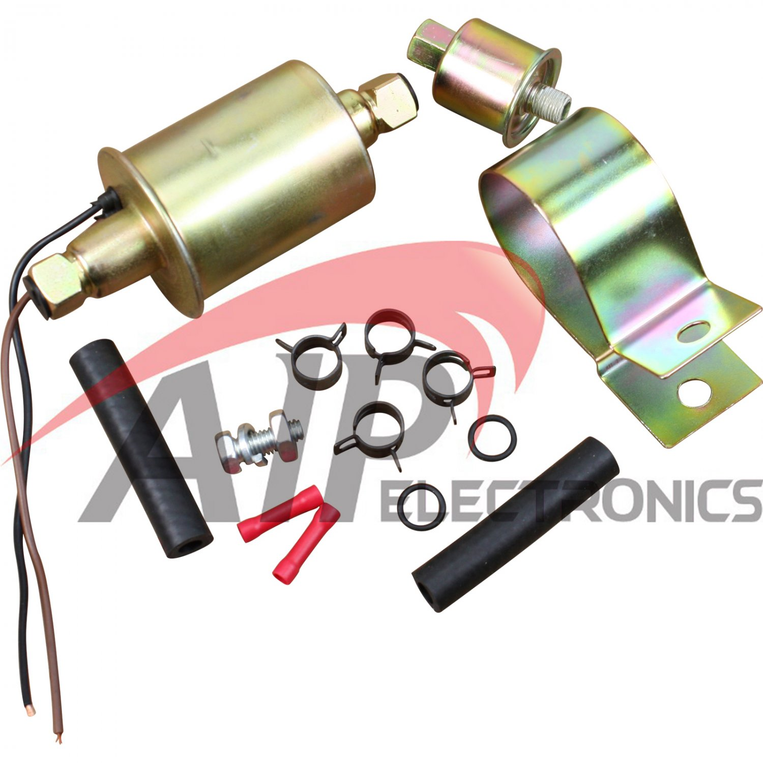 Brand New Universal 12v Electric Fuel Pump Installation kit E8016S E8012S Low Pressure Oem Fit FP128