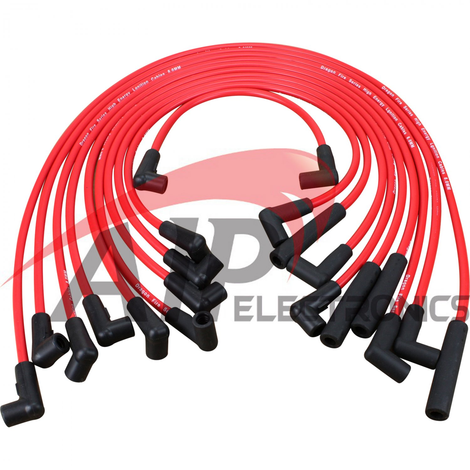 Brand Dragon Fire Performance Hei Spark Plug Wire Set For 1987-1995 Chevrolet 305 350 Cadillac Buick