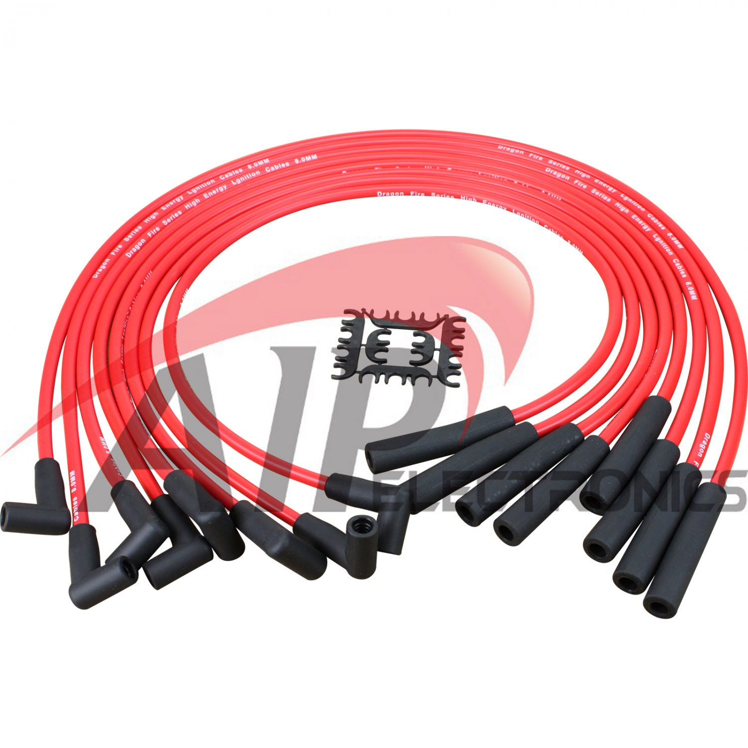 Brand New Dragon Fire Hei Spark Plug Wires For Ford Fe 290