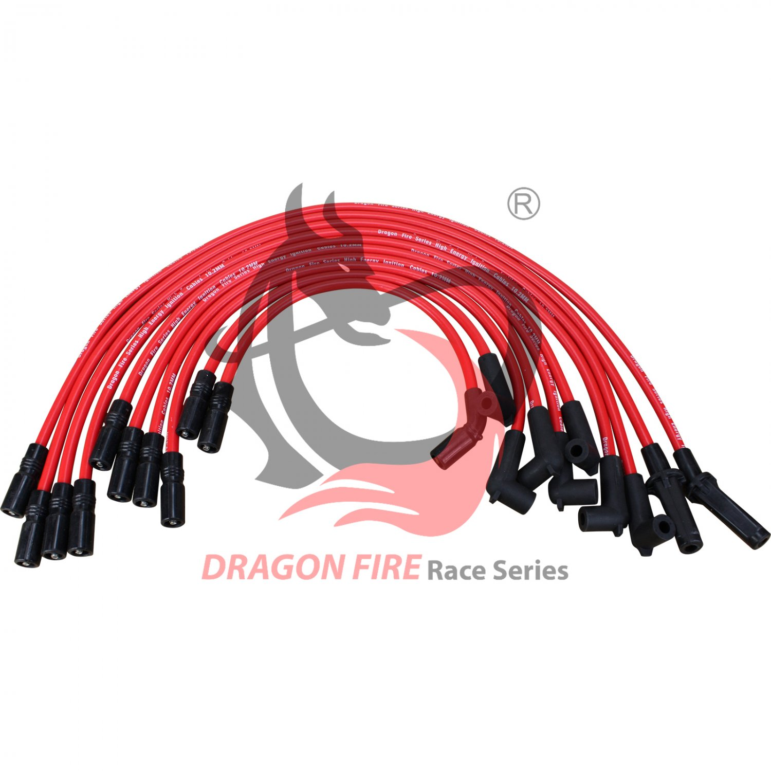 HUGE 10.2mm Spark Plug Wires Set 1992 1993 1994 1995 1996 1997 GM Chevrolet Pontiac Buick 5.7L V8 LT