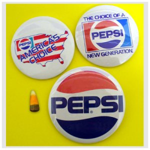 Pepsi Buttons