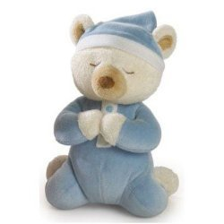 Blue Boy Prayer Bear
