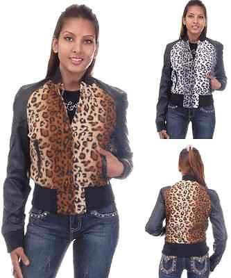 Wholesale Lot (6) Leopard Print Jackets Ladies Juniors Coats Ticketed $74 NWT!
