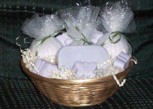 Lavender, Lemon Gift Basket