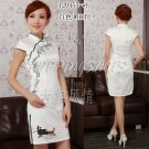 chinese gown dress qipao cheongsam wedding 120455 Embroidered 30-38 in stock