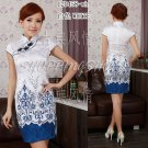 chinese gown dress qipao cheongsam wedding 120456 Embroidered 30-38 in stock