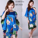 Chinese gown bathing dress bathrobe bedgown 121405 multi-colored one size only