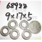 (100) 689 ZZ Miniature Bearings ball Mini bearing 9x17x5 mm 9*17*5 689Z 689ZZ 2Z