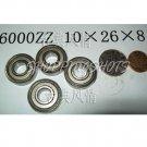 1 pc 6000-2Z ZZ Deep Groove Ball Bearing Quality 10x26x8 10*26*8 mm 6000Z 6000ZZ free shipping
