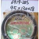 (10pcs) thin 6919-2RS RS bearings Ball Bearing 6919RS 95X130X18 mm 95*130*18 6919RS  free shipping