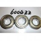 (1) 6004-2Z ZZ Deep Groove Ball Bearing ABEC1 20x42x12 6004Z 6004ZZ 20*24*12 mm  free shipping
