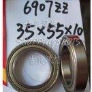 1pcs thin 6907-2Z ZZ bearings Ball Bearing 6907ZZ 35X55X10 35*55*10 6907Z 6907ZZ  free shipping