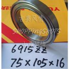 1pcs 6915-2ZZ ZZ bearings Ball Bearing 6915ZZ 75X105X16 75*105*16 6915Z 6915ZZ  free shipping