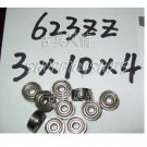 1pc 623-2Z 623 ZZ Deep Groove Ball Bearing Quality 3x10x4 3*10*4 mm ABEC1 2Z Z  free shipping