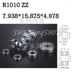 1pcs R1010 ZZ 7.938*15.875*4.978 mm Miniature Ball Radial Ball Bearings R1010ZZ   free shipping