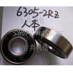 10 pcs 6305-2RZ RZ Deep Groove Ball Bearing ABEC3 25x62x17 mm 25*62*17 6305RS RS free shipping