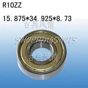 "1pcs R10 ZZ 5/8"" x 1 3/8"" x 11/32"" inch Bearing Miniature Ball Radial Bearings free shipping"