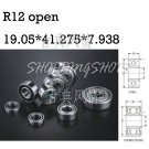 "10pcs R12 open 3/4"" x 1 5/8"" x 5/16"" inch Bearing Miniature Ball Radial Bearing free shipping"