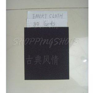 "free shipping 10 Sheets emery Crocus emery Aluminium oxide cloth 9""X11"" 80 grit electro coated"