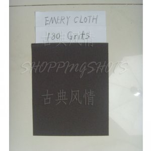 "free shipping  20 Sheets emery Crocus emery Aluminium oxide cloth 9""X11"" 180 grit electro coated"