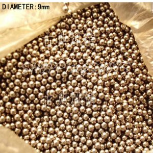 free shipping 100 pcs Dia/Diameter 9 mm bearing balls Carbon steel ball bearings in stock