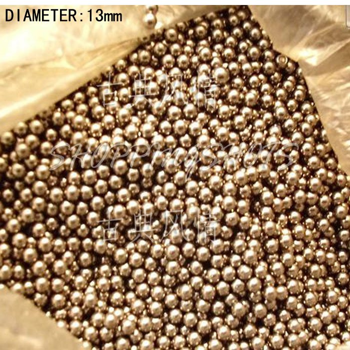 free shipping 20 pcs Dia/Diameter 13 mm bearing balls Carbon steel bearings ball in stock