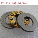 1pcs 5 x 11 x 4.5 mm F5-11M Axial Ball Thrust quality Bearing 3-Parts 5*11*4.5