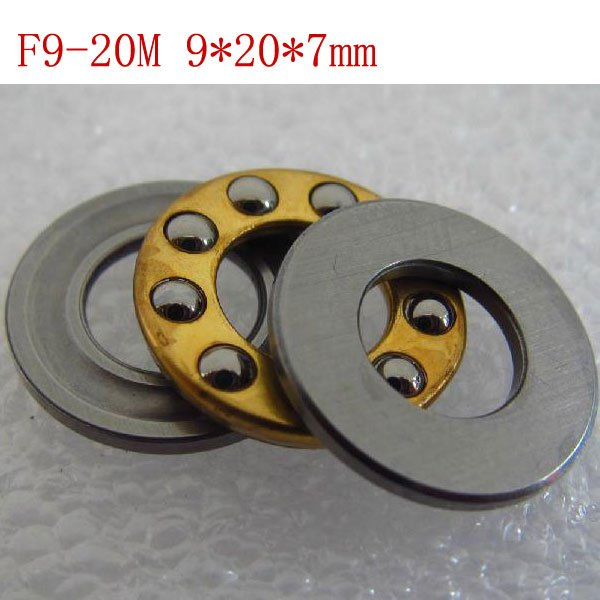 1pcs 9 x 20 x 7 mm F9-20M Axial Ball Thrust quality Bearing 3-Parts 9*20*7 ABEC1