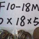 1pcs 10 x 18 x 5.5 F10-18M Axial Ball Thrust quality Bearing 3-Parts 10*18*5.5
