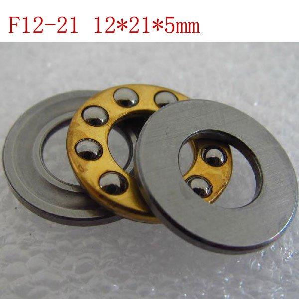 1pcs 12 x 21 x 5 F12-21M Axial Ball Thrust quality Bearing 3-Parts 12*21*5 ABEC1
