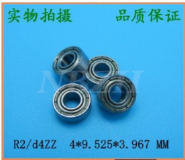 (2) 684XZZ 684X Miniature Bearings ball Mini Non standa bearing 4x9.5x4 4*9.5*4