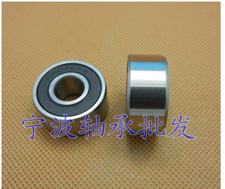 2 pcs 63002 RS Deep Groove Ball Bearing 15X32x13 15*32*13 mm bearings 63002RS