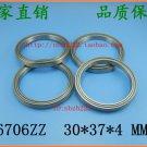 4pcs 6706-2Z ZZ bearings Ball Bearing 6705ZZ 30*37*4 30X37X4 mm 6706ZZ 2Z ABEC1