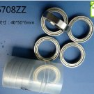 4pcs 6708-2Z ZZ bearings Ball Bearing 61708 40*50*6 40X50X6 mm 6708ZZ 2Z ABEC1