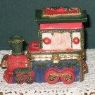 Christmas Train Trinket Box