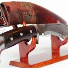 "10"" American Eagle Yak Leather khukuri  kukuri kukri blade gifts,ship from US"