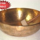 "20"" Tibetan Hand Hammered Singing Bowl,7 Metals Meditation Bowls Nepal 2059"