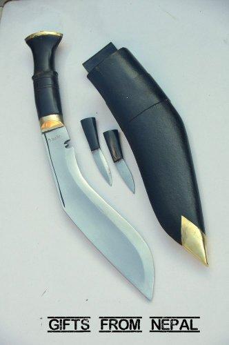 """11"""" World War II Khukuri ,Horn Handle Khukuri, kukri Blade,Handmade in Nepal 02"""