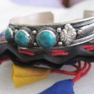Handmade Tibetan Stone Bracelet - Free Nepali Thaili - Gifts From Nepal-BRC200