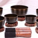 CHAKRA HEALING TIBETAN SINGING BOWL - SET OF 7
