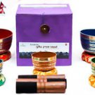 Tibetan Singing Bowl Sets - 7 Sets of Chakra Healing Meditation Bowls From Nepal