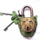 Antique Lion Door Lock