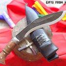 """10"""" Panawal Angkhola Khukuri,Handmade Gurkha Khukuri ,Knife ,Blade , Kukri 017"""