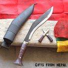 "10"" Panawal Sirupate Gurkha Khukuri,Handmade in Nepal,Knife ,Blade , Kukri 016"