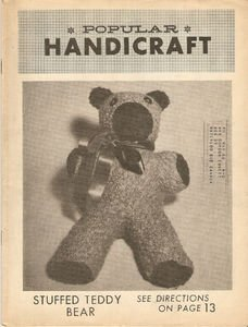 Vintage January 1966 Popular Handicraft Magazine