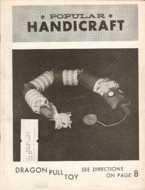 Vintage April 1966 Popular Handicraft Magazine
