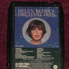 Helen Reddy Greatest Hits Vintage 8 Track Tape Stereo Music Cartridge