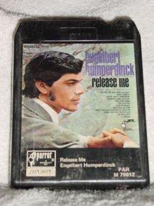 Engelbert Humperdinck Release Me Vintage 8 Track Tape Music Stereo Cartridge